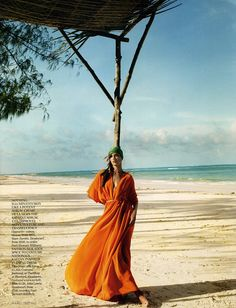 British Vogue - Ocean Colour Scene | Mario Testino