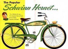 Schwinn Hornet, Had one. Old Bicycle, Bicycle Art, Old Bikes, Bicycle Design, Motorbike Design, Retro Bicycle, Bicycle Painting, Velo Vintage, Vintage Bicycles