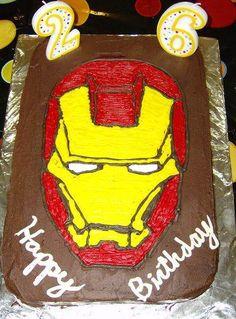 Ironman Birthday Cakes