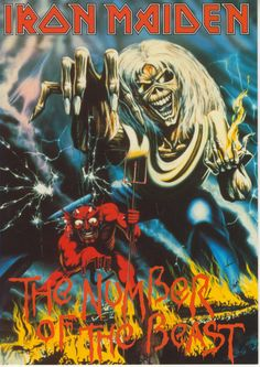 Iron Maiden Vykort