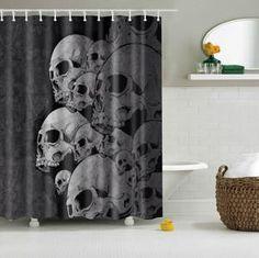 Sugar Skull Shower Curtain – Deselcock