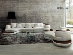 """Dimensions: LAF 2Seater: W73""""xD39""""xH28""""Armless Chair: W28""""xD39""""xH28""""RAF 2Seater: W74""""xD39""""xH28"""" Chaise: W86""""xD43""""xH28""""  Includes: Sectional Sofa and Chaise"""