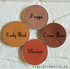 Makeup geek eyeshadows review and swatches