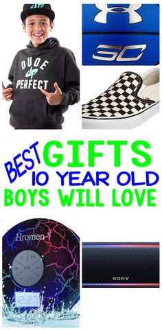 BEST Gifts 10 Year Old Boys Will Love
