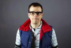 "Rivers Cuomo - 5'6"" - all about those vests!"
