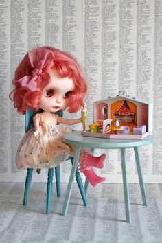 Mini Barbie Dream House retro dollhouse  Mattel  by UtterMabness, $33.00