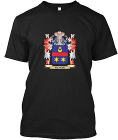Kumar Coat Of Arms   Family Crest Black T-Shirt Front - This is the perfect gift for someone who loves Kumar. Thank you for visiting my page (Related terms: Kumar,Kumar coat of arms,Coat or Arms,Family Crest,Tartan,Kumar surname,Heraldry,Family Reunion,Kuma ...)
