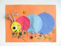 Big Caterpillar Craft for Kids