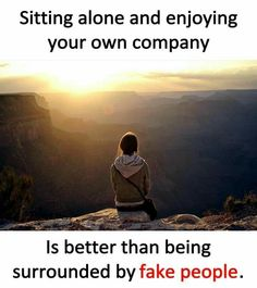 Sitting alone and enjoying your own company Is better than being surrounded by fake people. Urdu Quotes, Me Quotes, Qoutes, Besties Quotes, Trust Quotes, Sister Quotes, Heart Quotes, Photo Quotes, Picture Quotes