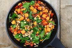 recipe image Healty Lunches, Healthy Recepies, Veggie Recipes, Vegetarian Recipes, Dinner Recipes, Evening Meals, Vegan Dinners, Going Vegan, Good Food