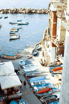 Cinque Terre and its colorful coast.