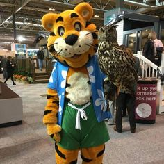 Rory's having a hoot at @NECCaravanShow with help from @eventsincltd! #MyHavenDays