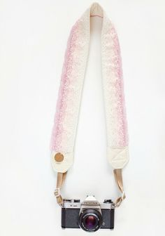 Creme Brulee Camera Strap By Bloom Theory