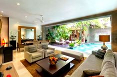 Love the outdoor living area Room Hospitality Interior Design Of Kanishka Villas Seminyak Kuta Bali ...