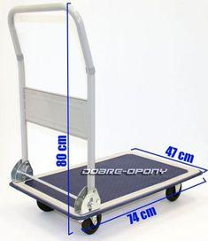 Wózek platformowy 150 kg transportowy magazynowy Siedlce - image 2