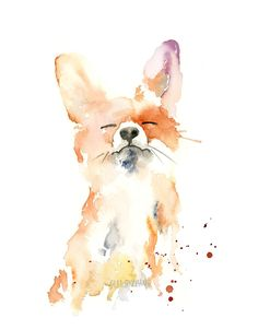 These whimsical watercolor animals bring attention to conservation