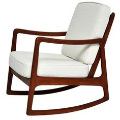 Ole Wanscher Rocking Chair   From a unique collection of antique and modern rocking chairs at http://www.1stdibs.com/furniture/seating/rocking-chairs/