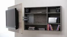 Diseño de muebles para Tv giratorio de melamina   Web del Bricolaje Diseño Diy