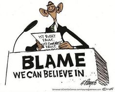 look in the mirror...the buck stops there!!!!