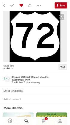 Rule Rule Of 72, Smart Women, Investing Money, Lululemon Logo, Company Logo, Tech Companies, Ads, Logos, Intelligent Women