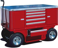 CTECH :: Service and Pit Carts :: Worktop Pit Carts
