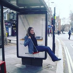 #swing at the #bus #stop