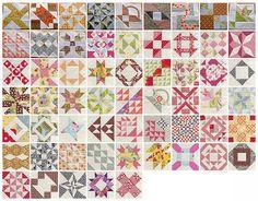 Farmer's wife sampler quilt – blocks 58 to 62 | Sewn Up by TeresaDownUnder