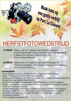 Uitslag Herfstfotowedstrijd - Actueel nieuws Parc La Clusure | Camping Parc La Clusure in de Belgische Ardennen