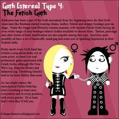 Goth Type 4: The Fetish Goth by ~Trellia on deviantART.