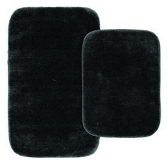 Unfamiliar bathroom rug sets memory foam tips for 2019 Dark Brown Bathroom, Dark Blue Bathrooms, Blue Bathroom Rugs, Home Depot Bathroom, Bathroom Doors, Washroom, Bathroom Flooring, Bathroom Floor Coverings, Toilet Mat