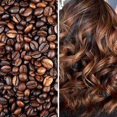 Coffee Balaiagem: Coffe Hair - 30 Hair For You Copy .- Balaiagem Café: Coffe Hair – 30 Cabelos Para Você Copiar Coffee Balaiagem: Coffe Hair – 30 Hair For You Copy - White Blonde Hair, Brown Curly Hair, Colored Curly Hair, Brunette Hair, Black Hair, Highlights Curly Hair, Brown Hair With Highlights, Hair Color Balayage, Caramel Hair Highlights