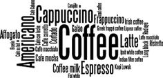 Image result for vinilos decorativos de cafe