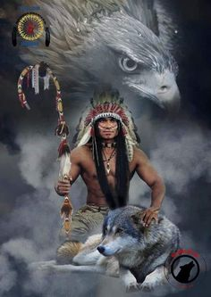 Tattoo Wolf Indian Native Americans Life 38 Ideas For 2019 Native American Drawing, Native American Warrior, Native American Paintings, Native American Pictures, Native American Wisdom, Native American Beauty, Indian Pictures, American Indian Art, Native American History