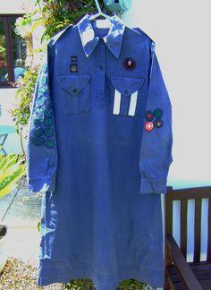 A Vintage UK Girl Guides Dress with Over Twenty Badges 1940's | eBay