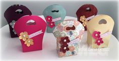Hello dear friends, Martha Lucia here to share with you a little sweets that I made for Mother's Day using the wonderful papers of Quick Quotes Scrapbook company and a new bag die cut. Take a look at these cuties: You know I love bags and these are perfect for little treats, chocolates and small …