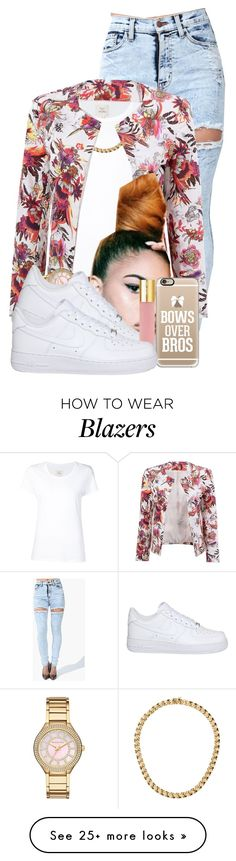 """""""Foolish"""" by aniahrhichkhidd on Polyvore featuring Max 'n Chester, Michael Kors, NIKE, Isaac Mizrahi and Casetify"""