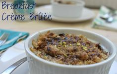 A healthy vegan twist on creme brulee, this recipe is sure to add some extra fun to any morning routine!