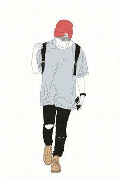 Fashion minimalist wallpaper 57 Ideas for 2019 Logo Anime, Estilo Punk Rock, Poses Manga, Chibi Bts, Arte Dope, People's Friend, Friends, Minimalist Wallpaper, Minimalist Art