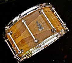 14 x 8 BRADY Marri Ply snare drum (Fiddleback Marri gloss finish)