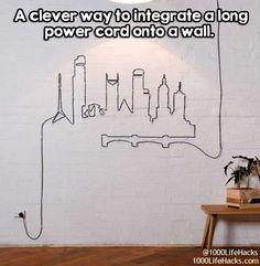 Make un-hideable cables pretty.