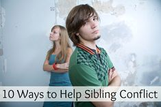 10 Ways to Help With Sibling Conflict   Siblings Who Fight   Siblings