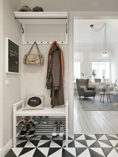 Neutral home decor - Project of the week: a cozy Scandinavian style in the St. Petersburg apartment