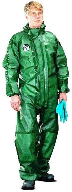 Alpha Solway GREEN Alphachem X100 Disposable Protective Garment - EN14605:2005 (Other EN Numbers Below) - AL-X1BH The Safety Supply Company PPE Specialists