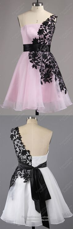 Pink Homecoming Dresses Short, Lace Prom Dresses for Teens, A-line Party Dresses Chiffon, Tulle Sweet 16 Dresses One Shoulder Source by , Vintage Homecoming Dresses, Cute Homecoming Dresses, Vintage Formal Dresses, Cheap Formal Dresses, Prom Dresses For Teens, Graduation Dresses, Party Dresses, Short Lace Dress, Short Dresses