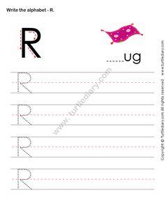Write Uppercase Letters Worksheet18