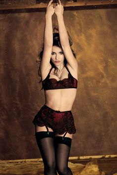 Monica Cruz for Agent Provocateur Fall Winter 2012 Lingerie Campaign -  Unleash your inner seductress with the fabulous lingerie styles from the  Agent ... 2063cbed2