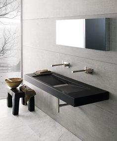 ♂ Contemporary design Minimalist bathroom