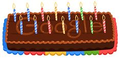 Check out all the Google Birthday Doodles on one page... Happy 14th Google!