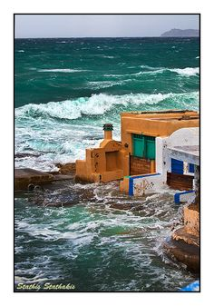 Mandrakia is a small fishing village. The architecture of this picturesque village is traditional of Milos. It follows the natural landscape, carved on rocks around a small port.