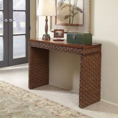 Home Styles Cabana Banana Console Table